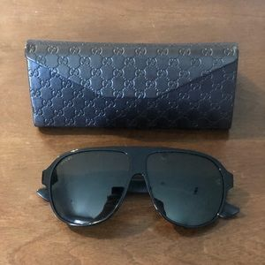Gucci Men's Sunglasses Preowned